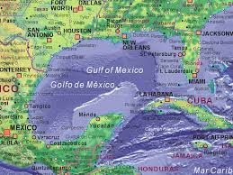 map of the gulf of mexico of gulf of mexico