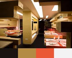 Restaurants Interior Designers by Warm Colors Interior