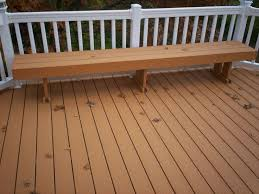 Wood Bench Plans Deck by 9 Best Deck Images On Pinterest Composite Decking Home And