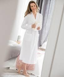 robe de chambre eponge femme robe de chambre et peignoir femme damart