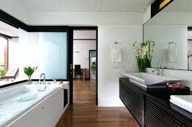 Subway Tile Backsplash Bathroom - bathroom with subway tile wainscoting bathrooms ideas in chinatown
