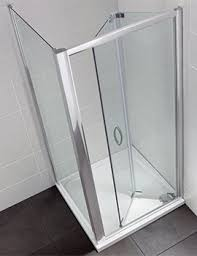 Infold Shower Door Ideal Standard Synergy 1000mm Infold Shower Door