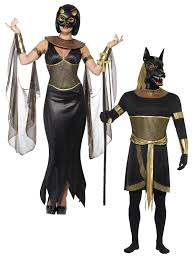 Owl Halloween Costumes Mens Ladies Egyptian Goddess God Halloween Wild Dog Fancy Dress