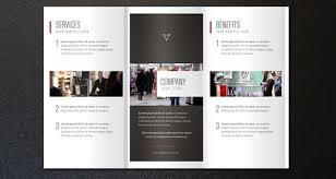 tri fold brochure ai template free psd indesign ai brochure templates brochures corporate