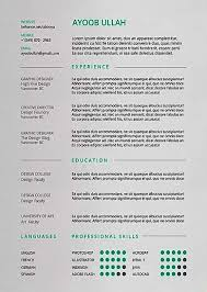 Standard Resume Templates Good Standard Resume Format 2017 U2013 Resume Template For Free