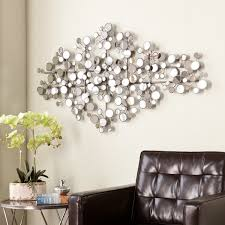 Affordable Wall Decor Gorgeous Upton Mirror Wall Design Idea With Flowers And Brown