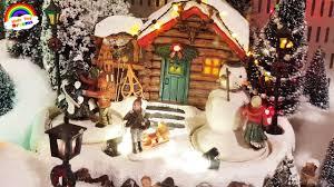 christmas winter wonderland toy town youtube