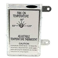 nutone rfth95 attic ventilator replacement thermostat automatic