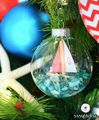 diy coastal christmas ornament