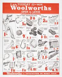 research woolworths and the advent of american style