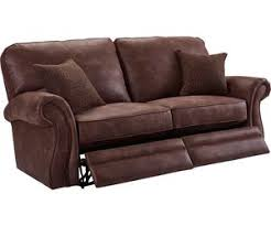 Sofa Leather And Fabric Combined by Lane Sofas And Sectionals