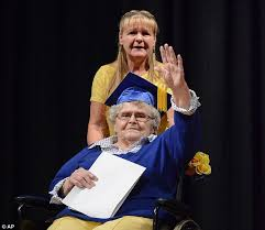 online speech class for high school credit ohio woman receives high school diploma 63 years later daily
