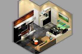 Stunning Small Flat Interior Design Ideas Contemporary House - Small apartments interior design