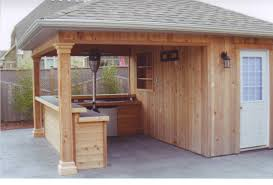 pool shed with bar plans how to build a slanted shed roof