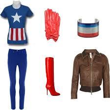 Marvel Female Halloween Costumes 25 Female Captain America Costume Ideas