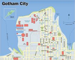map of dc universe usa gotham city dc extended universe wiki fandom powered by wikia