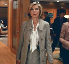 goodwife hair styles the good wife christine baranski s houndstooth ensemble instyle com