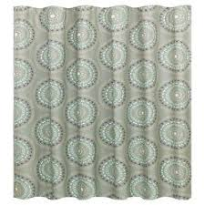 Green And Gray Shower Curtain Turquoise Arrow Shower Curtain Pillowfort Target