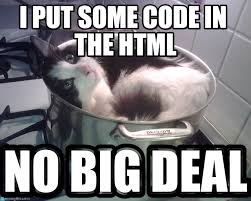 Meme Html - i put some code in the html gato del chino meme on memegen