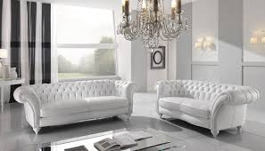Chesterfield White Leather Sofa Combine Classic Look With Modern By Stunning Chesterfield