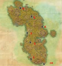 bal foyen treasure map auridon treasure map locations elder scrolls guides