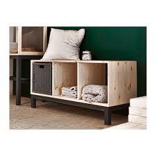 Ikea Storage Bench Nornäs Pad Tárolórekszekekkel Ikea Tömör Fa Strapabíró