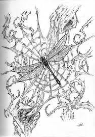 tattoo spider web elbow dragonfly n spider web tattoo sketch tattoos book