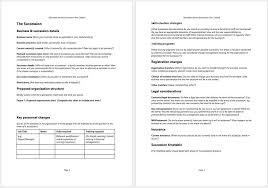Business Buyout Agreement Template Business Succession Plan Template And Guide Clickstarters