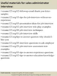 free professional resume sles 2015 administrator top 8 sales administrator resume sles