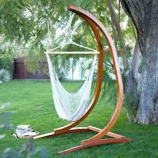 hammock stand chair ombo otton fabri apaity hammock chair stand c