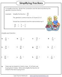 fractions math fraction worksheets