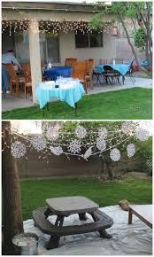 frozen party outdoor decor bd 1 2 birthday pinterest party