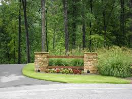 best 25 driveway entrance landscaping ideas on pinterest