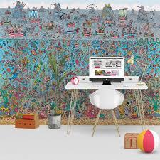 where s wally deep sea feature wall wallpaper mural 270cm x 253cm 1wall where s wally deep sea feature wall wallpaper mural 270cm x 253cm