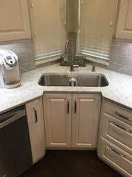 corner kitchen sink cabinet recessed corner sink cabinet with a low divide sink set in