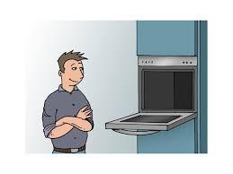 four de cuisine installer un four électrique electroménager et outillage livios