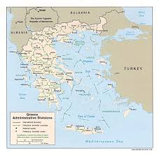 Greece On Map by Maps Of Greece Greece Detailed Map In English Tourist Map Map