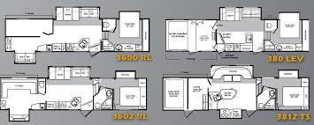 Fifth Wheel Floor Plans Keystone Raptor Fifth Wheel Toy Hauler Floorplans Large Picture