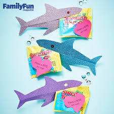 fish valentines easy shark valentines card for kids