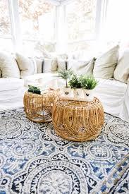 diy basket coffee table liz marie blog