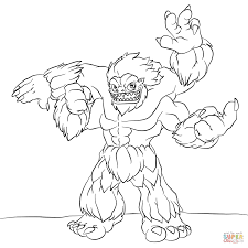 skylanders slam bam coloring page free printable coloring pages