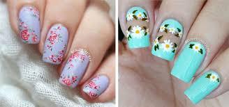 20 floral nail art designs u0026 ideas 2017 spring nails modern