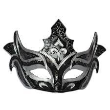 black venetian mask handmade black venetian mask masquerade party masks cos men rome