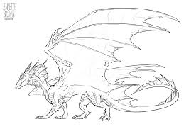 dragon lineart template 1 by sugarpoultry on deviantart