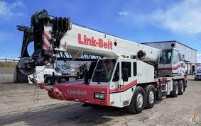 2013 link belt htc 86100 hydraulic truck crane crane for in