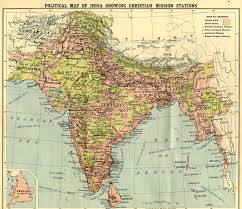 India Political Map Gazetteer And Maps