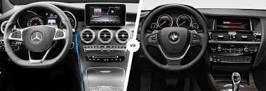 2017 bmw x3 vs 2018 mercedes glc vs bmw x3 suv comparison carwow
