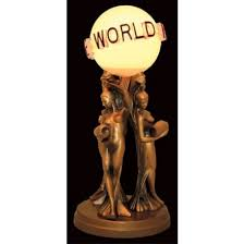 the world is yours lamp the ultimate lighting media in your home