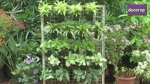 how to make a vertical garden youtube