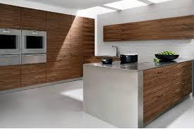 Contemporary Walnut Kitchen Cabinets - allmilmo kitchen in walnut tree veneer u2013 design art modern